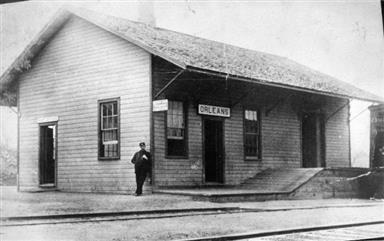 PRR depot at Orleans
