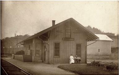 Himrod depot, NCRR