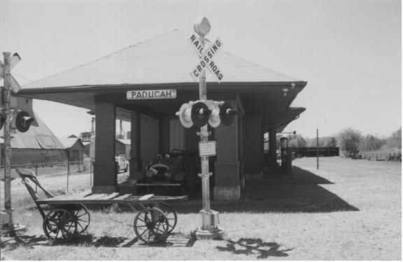 The Quanah station at Paducah, TX