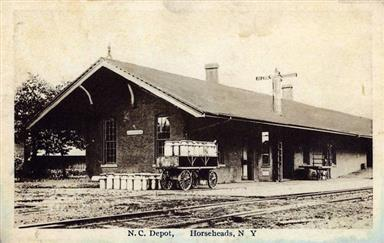 Horseheads depot, NCRR