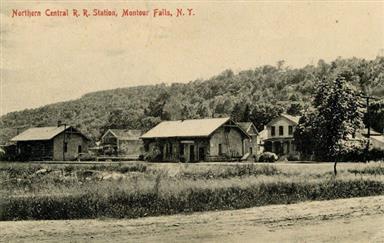 Montour Falls depot, NCRR
